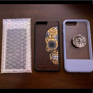 iPhone 8+ phone cases and screen protector